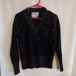Vintage | Black Sparkly Sweater